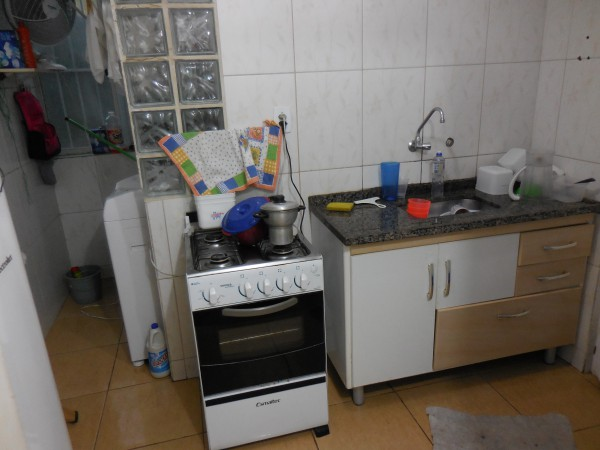 Indias 1st Apartment kitchen